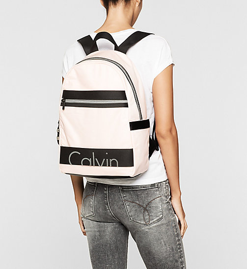 Backpack - SOFT PINK - CK JEANS SHOES & ACCESSORIES - detail image 1