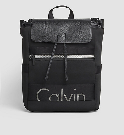 CKJEANS Neoprene Backpack - BLACK - CK JEANS BACKPACKS - main image