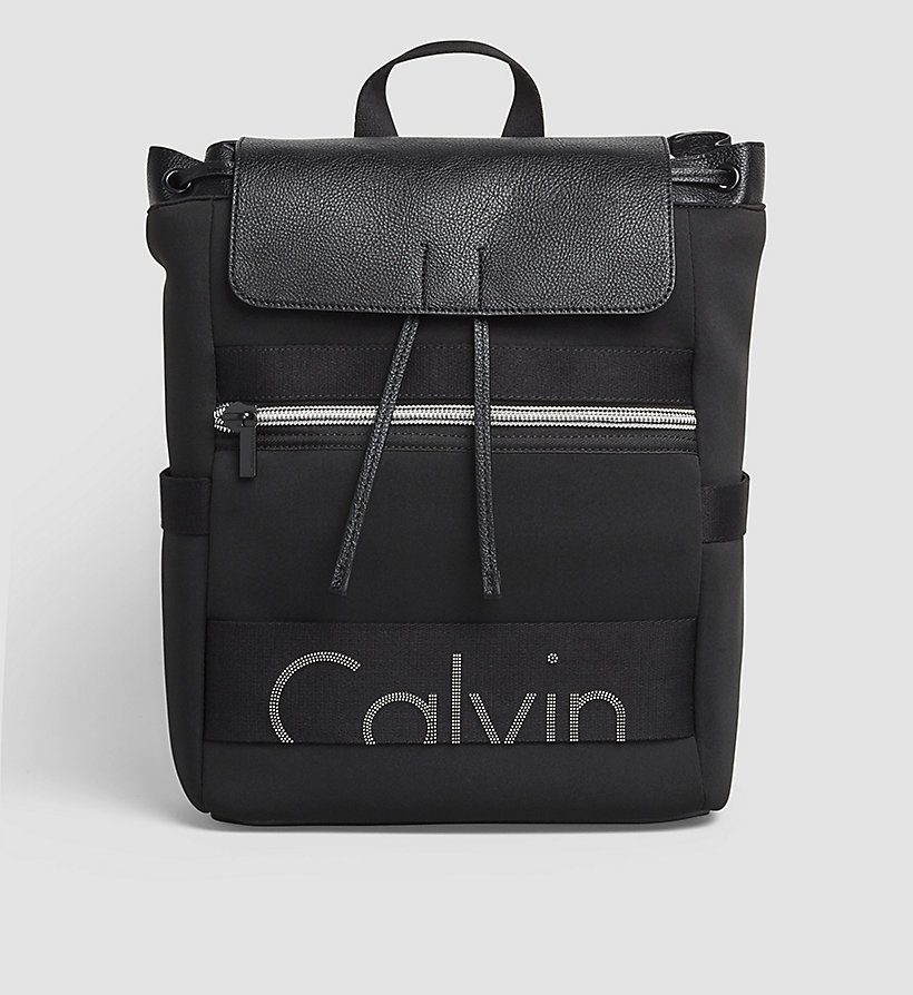 CKJEANS Neoprene Backpack - BLACK - CK JEANS SHOES & ACCESSORIES - main image