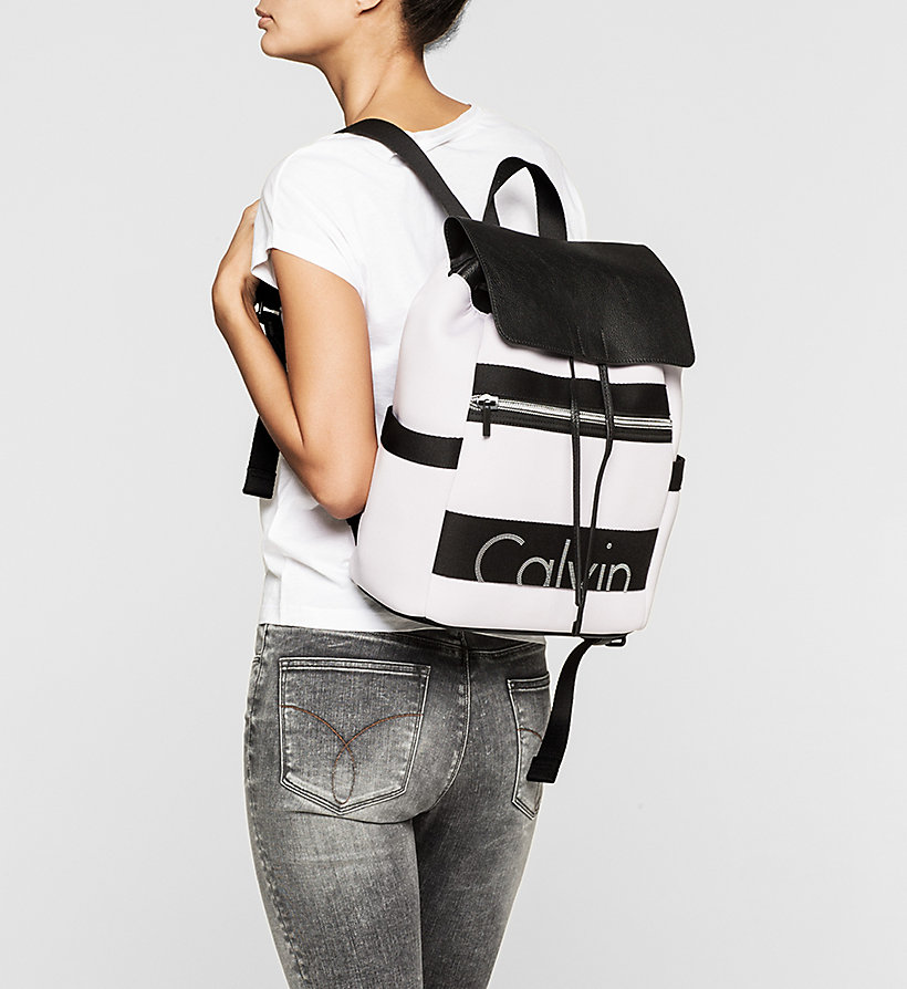 CKJEANS Neoprene Backpack - LILAC HINT - CK JEANS SHOES & ACCESSORIES - detail image 1