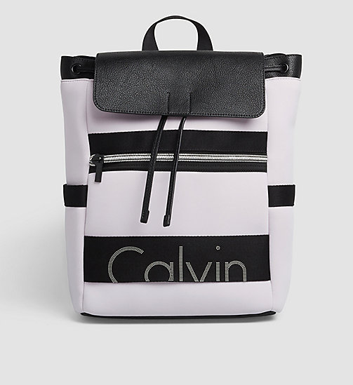 CKJEANS Neoprene Backpack - LILAC HINT - CK JEANS BACKPACKS - main image