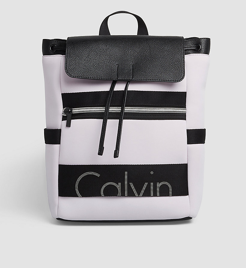 CKJEANS Neoprene Backpack - LILAC HINT - CK JEANS SHOES & ACCESSORIES - main image