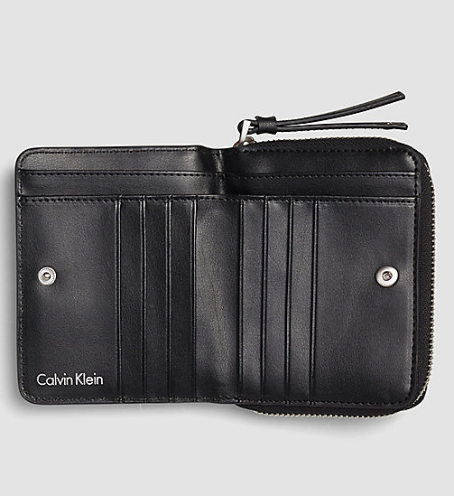 Medium Flap Ziparound Wallet - BLACK - CALVIN KLEIN  - detail image 1