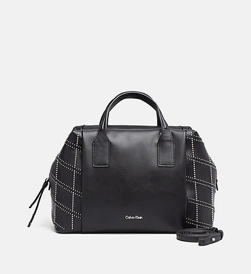 CALVINKLEIN Graphic Duffle Bag - BLACK - CALVIN KLEIN  - main image