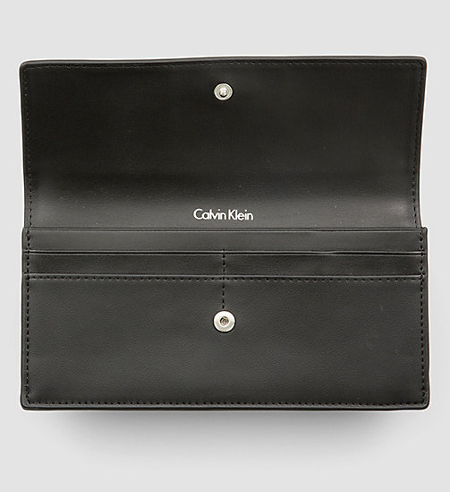 CALVINKLEIN Large Slim Trifold Wallet - GRANITE MONOGRAM - CALVIN KLEIN SHOES & ACCESSORIES - detail image 1