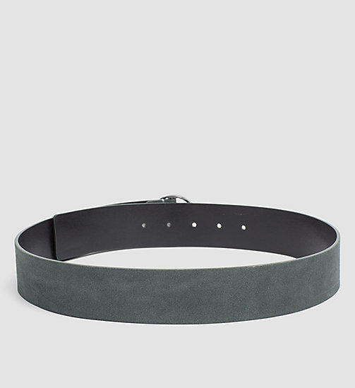 CALVINKLEIN Leather Waist Belt - IVY - CALVIN KLEIN BELTS - detail image 1