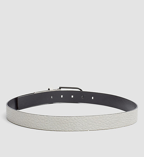 Leather Belt - MINERAL - CALVIN KLEIN  - detail image 1