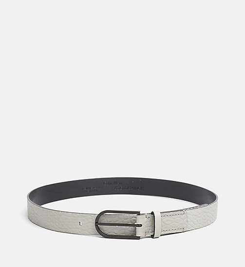 Leather Belt - MINERAL - CALVIN KLEIN  - main image