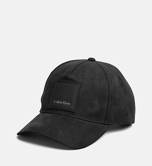 CALVINKLEIN Winter Baseball Cap - BLACK - CALVIN KLEIN HATS - main image