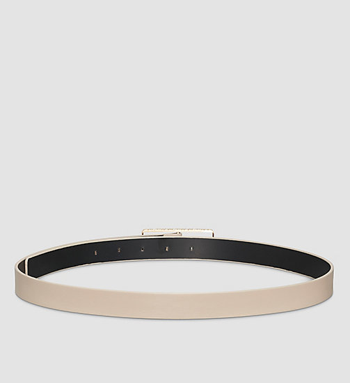 Skinny Leather Belt - SURPLUS - CALVIN KLEIN  - detail image 1