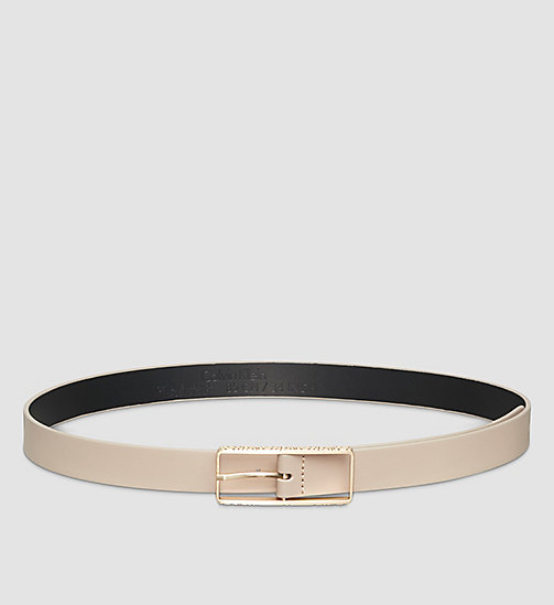 Skinny Leather Belt - SURPLUS - CALVIN KLEIN  - main image