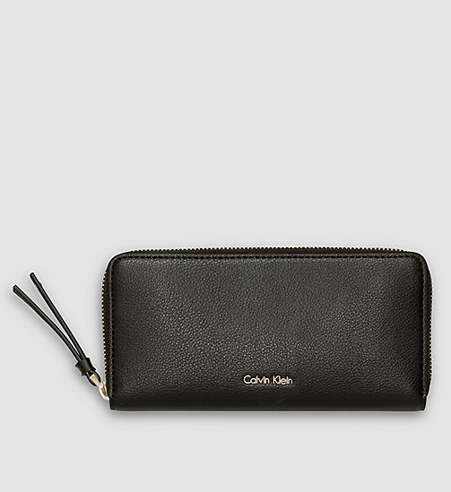 Large Ziparound Wallet - BLACK - CALVIN KLEIN SHOES & ACCESSORIES - main image