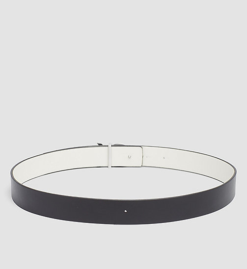 Reversible Leather Belt Gift Box - BLACK/DUSTED IVORY - CALVIN KLEIN  - detail image 1