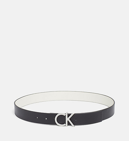 Reversible Leather Belt Gift Box - BLACK/DUSTED IVORY - CALVIN KLEIN  - main image