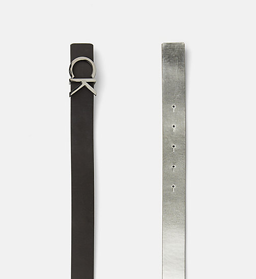 CALVINKLEIN Reversible Leather Belt Gift Box - SILVER / BLACK - CALVIN KLEIN GIFTS FOR HER - detail image 1