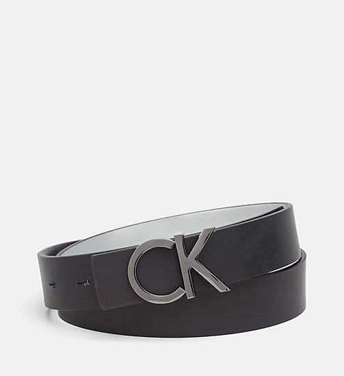 CALVINKLEIN Reversible Leather Belt Gift Box - SILVER / BLACK - CALVIN KLEIN GIFTS FOR HER - main image