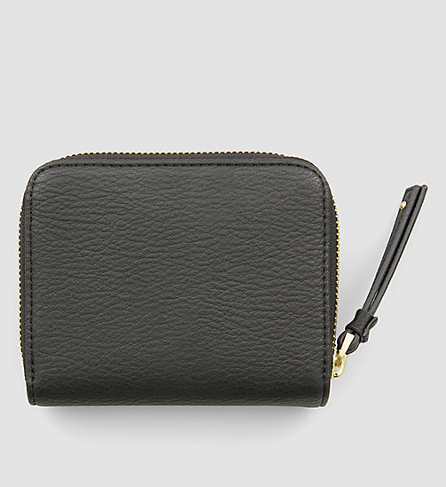 Medium Flap Ziparound Wallet - BLACK - CALVIN KLEIN SHOES & ACCESSORIES - detail image 1