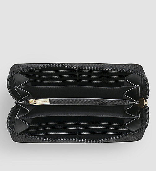Large Ziparound Wallet - BLACK - CALVIN KLEIN SHOES & ACCESSORIES - detail image 1