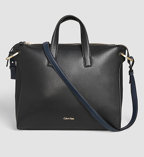 CALVINKLEIN Tote Bag - BLACK - CALVIN KLEIN SHOES & ACCESSORIES - main image