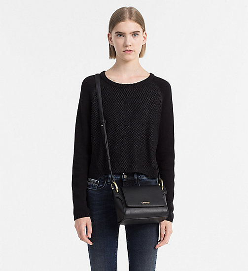 Flache Crossover-Bag - BLACK - CALVIN KLEIN  - main image 1