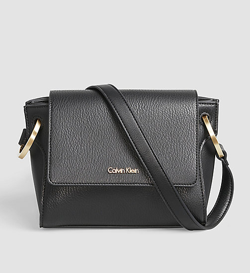 Flache Crossover-Bag - BLACK - CALVIN KLEIN  - main image