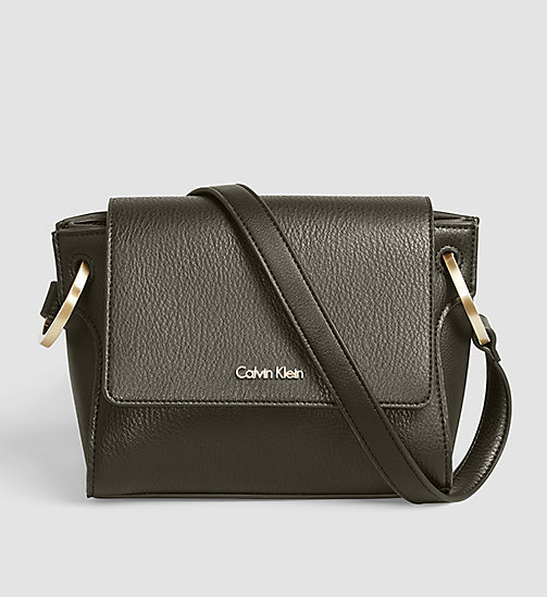 CALVINKLEIN Flap Crossover - BLACK OLIVE - CALVIN KLEIN CROSSOVER BAGS - main image