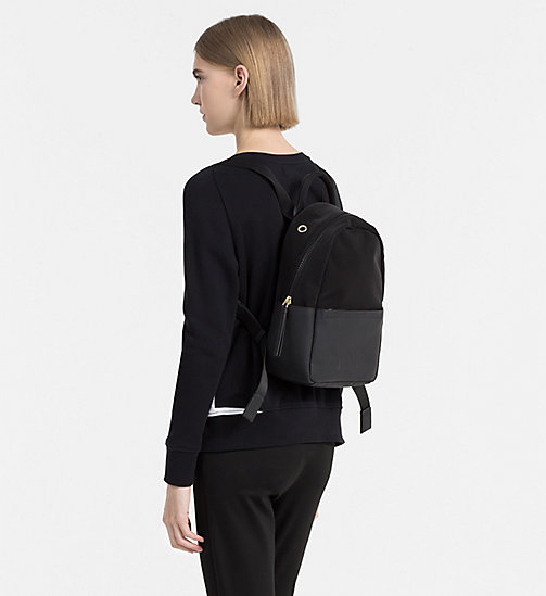 CALVINKLEIN Media Backpack - BLACK - CALVIN KLEIN  - detail image 1