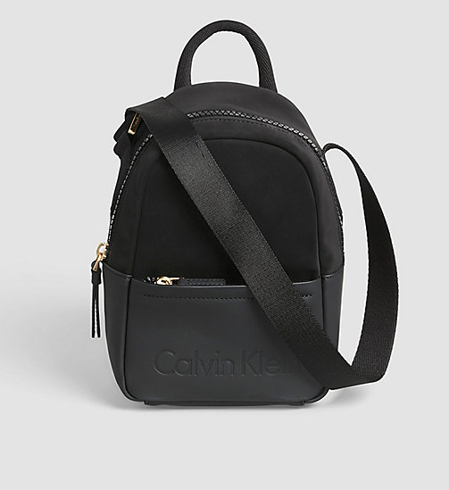 CALVINKLEIN Kleine Crossover-Bag - BLACK - CALVIN KLEIN ACTION-PACKED - main image