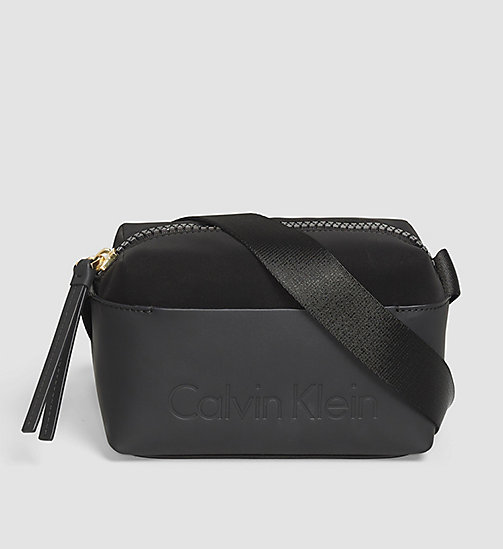 CALVINKLEIN Mini Crossover-Bag - BLACK - CALVIN KLEIN CROSSOVER-BAGS - main image
