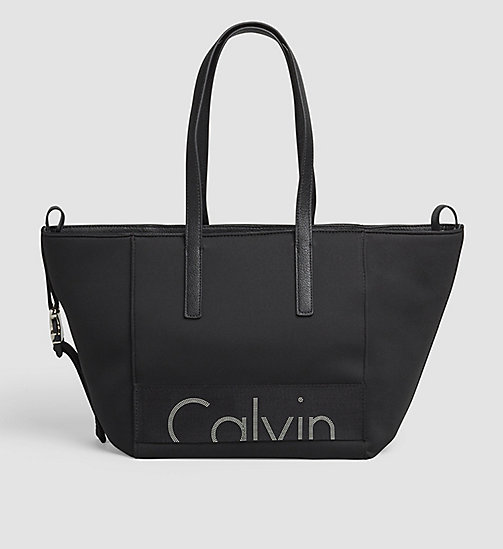 CKJEANS Neoprene Tote Bag - BLACK - CK JEANS Up to 40% - main image