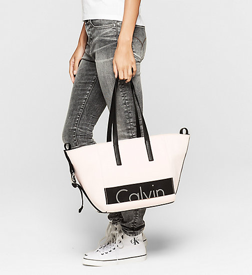 CKJEANS Neoprene Tote Bag - SOFT PINK - CK JEANS Up to 40% - detail image 1