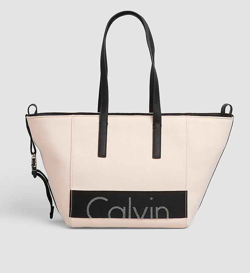 CKJEANS Neoprene Tote Bag - SOFT PINK - CK JEANS SHOES & ACCESSORIES - main image