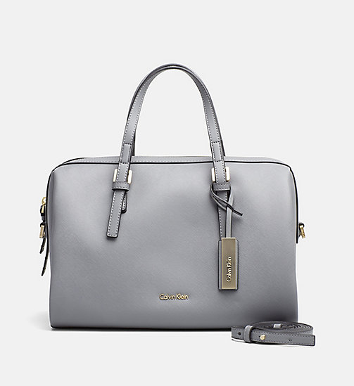 CALVINKLEIN Duffle Bag - STEEL GREY - CALVIN KLEIN 24/7 STAPLES - main image