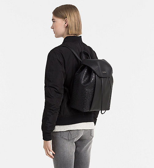 Logo Backpack - BLACK - CALVIN KLEIN SHOES & ACCESSORIES - detail image 1