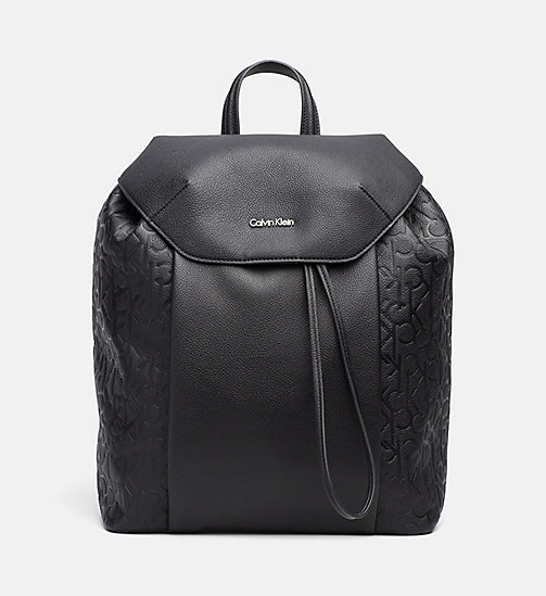 Logo Backpack - BLACK - CALVIN KLEIN SHOES & ACCESSORIES - main image