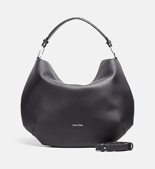 Round Hobo - BLACK - CALVIN KLEIN SHOES & ACCESSORIES - main image