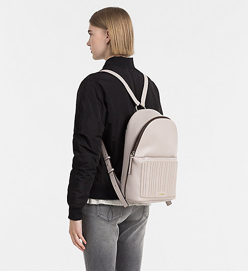 CALVINKLEIN Quilted Backpack - MUSHROOM - CALVIN KLEIN SHOES & ACCESSORIES - detail image 1