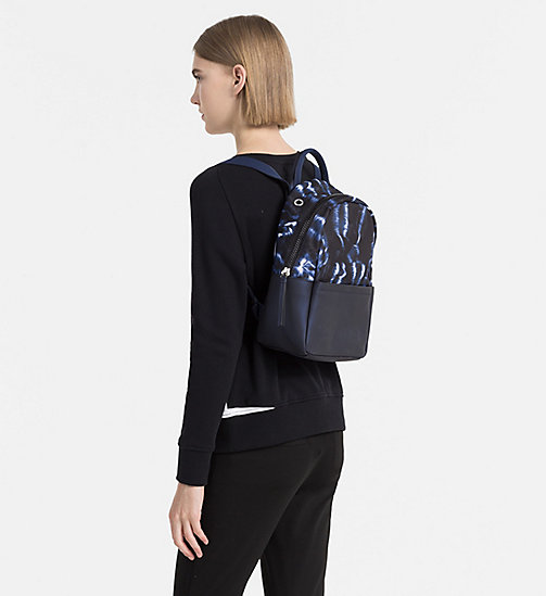 CALVINKLEIN Printed Backpack - BLUE NIGHT - CALVIN KLEIN BACKPACKS - detail image 1