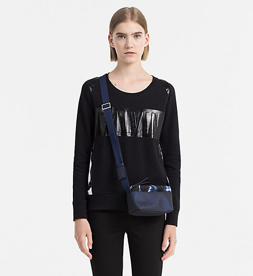 CALVINKLEIN Mini Crossover-Bag mit Print - BLUE NIGHT - CALVIN KLEIN CROSSOVER-BAGS - main image 1