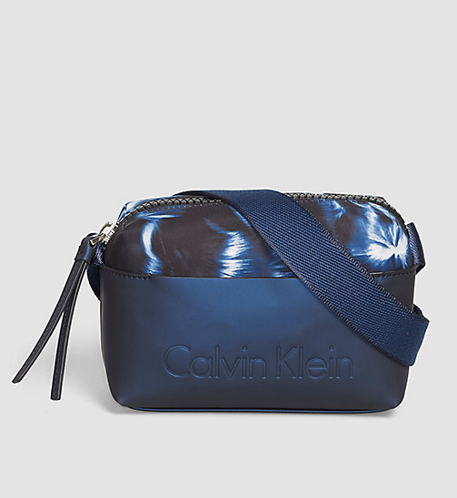 CALVINKLEIN Printed Mini Crossover - BLUE NIGHT - CALVIN KLEIN CROSSOVER BAGS - main image