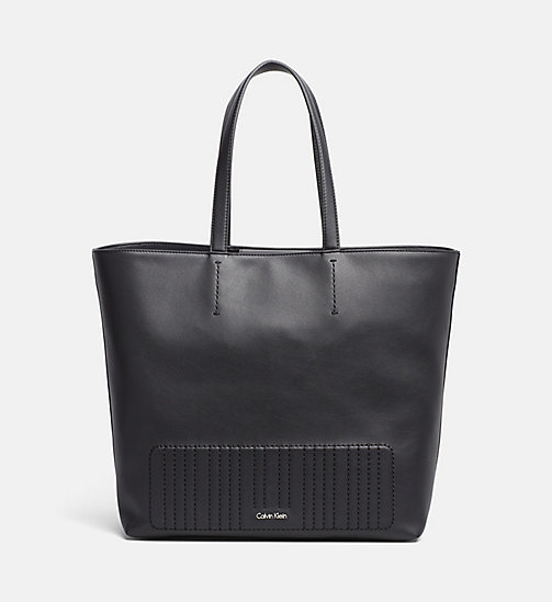 CALVINKLEIN Shopper Tote Bag - BLACK - CALVIN KLEIN SHOES & ACCESSORIES - main image