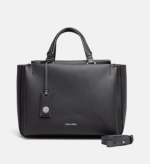 Duffle Bag - BLACK/GUNMETAL - CALVIN KLEIN SHOES & ACCESSORIES - main image