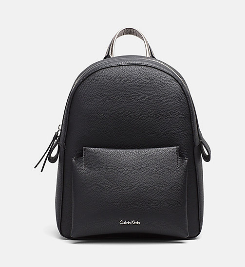 Backpack - BLACK/GUNMETAL - CALVIN KLEIN SHOES & ACCESSORIES - main image