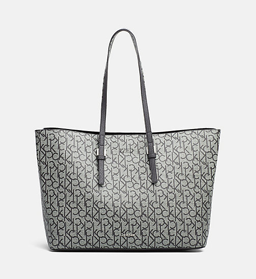 CALVINKLEIN Large Bag-In-Bag Tote - GRANITE MONOGRAM - CALVIN KLEIN SHOES & ACCESSORIES - main image