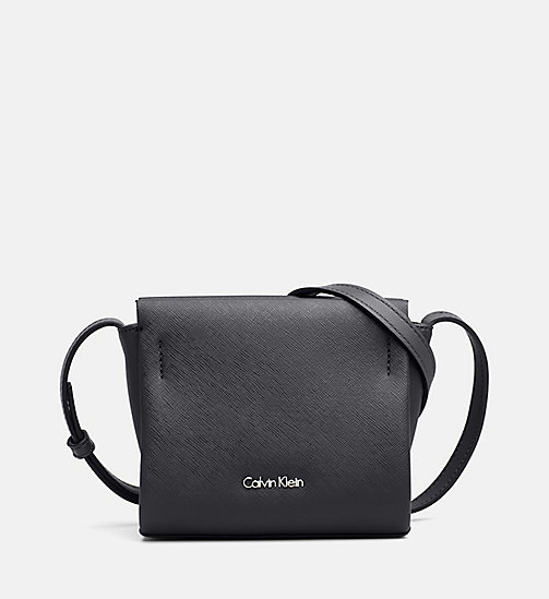 CALVINKLEIN Mini Crossover-Bag - BLACK - CALVIN KLEIN CARRIED AWAY - main image