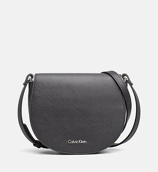 CALVINKLEIN Saddle Bag - BLACK - CALVIN KLEIN SHOES & ACCESSORIES - main image