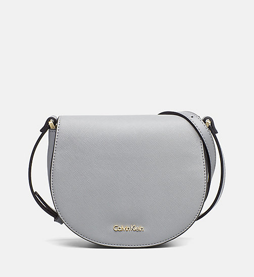 CALVINKLEIN Saddle Bag - STEEL GREY - CALVIN KLEIN SHOES & ACCESSORIES - main image