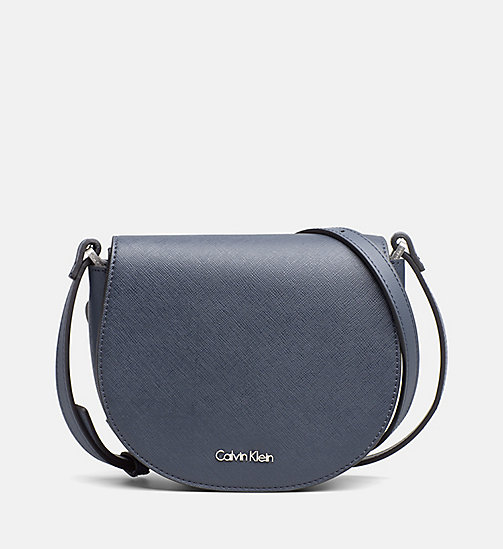 CALVINKLEIN Saddle Bag - BLUE NIGHT - CALVIN KLEIN SHOES & ACCESSORIES - main image