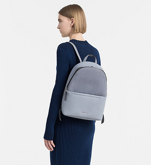 CALVINKLEIN Backpack - MINERAL WOOL/ MINERAL - CALVIN KLEIN SHOES & ACCESSORIES - detail image 1