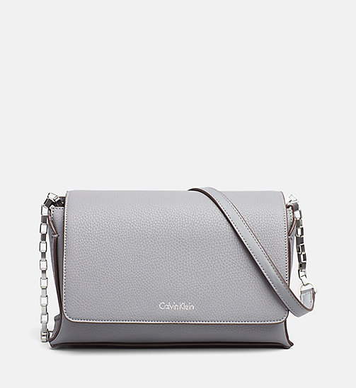 Medium Satchel - STEEL GREY / MINERAL - CALVIN KLEIN SHOES & ACCESSORIES - main image